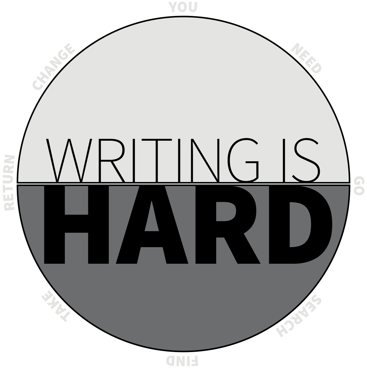 Writing Is Hard - Will Moyer