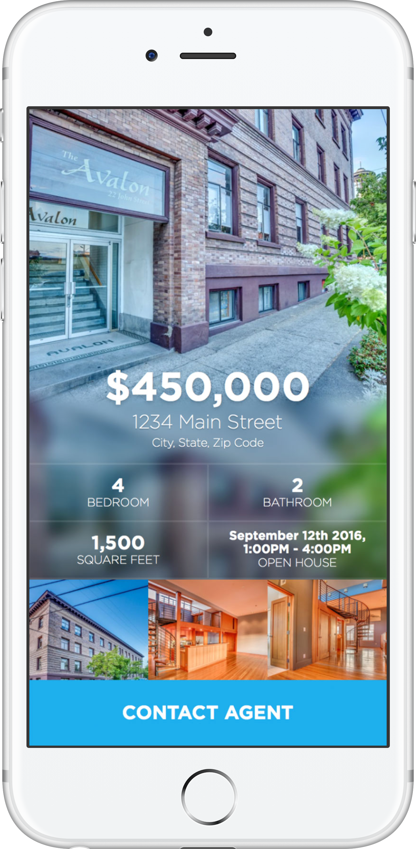 RE/MAX Property Template Phone